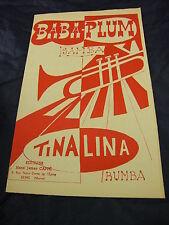 Partition Baba plum Tina Lina  de Henri Cappé  Samba Rumba