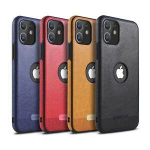 Leather Shockproof  Case For iPhone 12 11 Pro Pro Max XS MAX XR 7 8 Plus Cover
