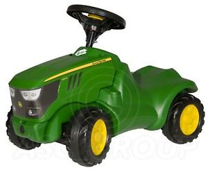 Rolly Toys - John Deere 6150R Mini Trac Ride on Push Tractor Green Age 1/2 - 4