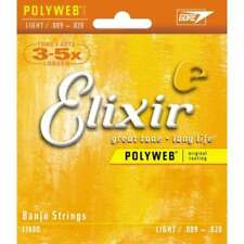 Cordes basses Elixir pour guitare et basse