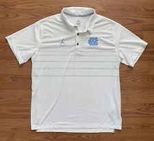 New listing Nike Dri-Fit North Carolina Tar Heels UNC Air Jordan Brand Golf Polo Men XL