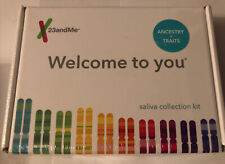23andMe Saliva Collection Kit Ancestry And Traits -Exp 05/13/2022 New And Sealed