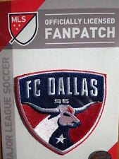 Oficial Bordado Mls Fútbol FC Dallas Logo Plancha o Coser Patch