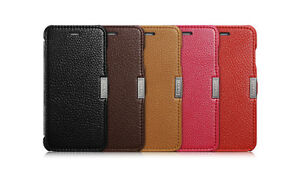 Case Luxury ICARER Model Litchi Pattern Leather For iPhone 6/6S/6PLUS/6SPLUS
