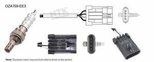 NGK NTK Oxygen Lambda Sensor OZA759-EE3 fits HSV Maloo VZ 6.0 V8 (297kw)