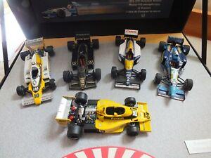 Genuine Coffret Renault F1 1:43 Die Cast 5 car collection Ltd RARE   7711420077