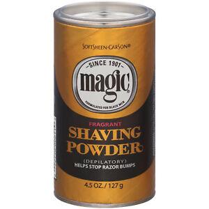 SoftSheen Carson Magic Fragrant Shaving Powder 4.5 oz