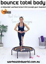 Rebounder Mini Trampoline EXERCISE DVD Barlates Body Blitz BOUNCE TOTAL BODY
