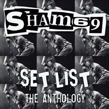 SHAM 69 - SET LIST THE ANTHOLOGY NEW VINYL RECORD