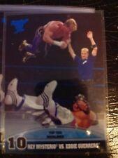 2013 Topps Best of WWE Top Ten Rivalries #10 Rey Mysterio Vs. Eddie Guerrero