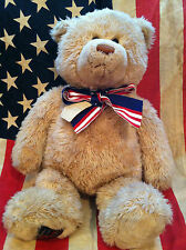 "Gund 26"" Wish Bear~100Th Anniversary Of The Teddy Bear 1902-2002 square tag"