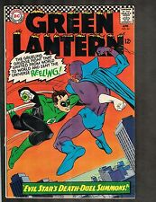 """Green Lantern #44 ~""""Evil Star's Death-Duel Summons"""" 1966 (6.5) WH"""