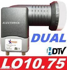 DUAL STANDARD LINEAR SATELLITE LNB FTA 10750 FREE AIR HD CHINESE PERSIAN ARABIC