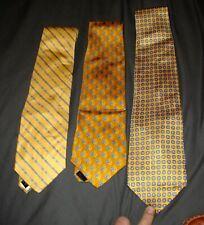 Brooks Brothers Silk Tie Lot of 3 - New w/Tags