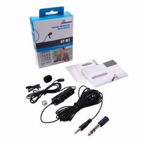 BOYA BY-M1 For Omnidirectional Camcorder Lavalier Microphone fr Canon Nikon DSLR
