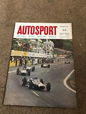 DEC 10 1965 AUTOSPORT vintage car magazine
