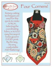 Four Corners Apron, Sewing Pattern  by Vanilla House, new, free US shipping