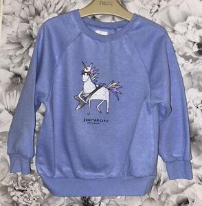 Girls Age 2-3 Years - Next Sweater - Unicorn