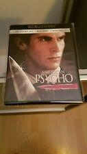 American Psycho 4K Ultra HD + Blu Ray Uncut MINT! No Digital HD