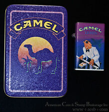 1992 Camel Lights Pack Lite III Lighter Joe Playing Piano Plus Tin.