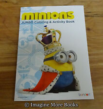 NEW Coloring Book: Despicable Me Minions ~ 96 pages