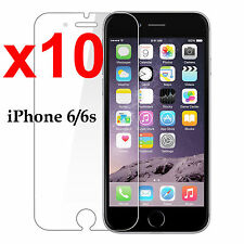 x10 Anti-scratch 4H PET film screen protector Apple iphone 6 6s front