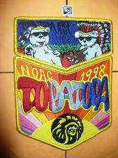 OA Topa Topa 291,1998 NOAC Two Part Set WHT Indian Bear, MGM Chief,California,CA