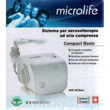 Sistema per aerosolterapia ad aria compressa Microlife Compact basic NEB-100 bas