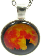 Orange Necklace Teens Cute Jewelry Gift Women Girl Trendy Gothic Handcrafted