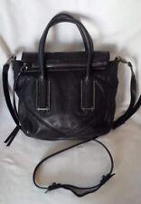 BOTKIER Black Leather Crossbody Shoulder Handbag - Rare