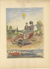 UZELAC 1932 THE JOY OF SPORT   HENRY KISTEMAEKERS L'AUTOMOBILE THE CAR PL-4