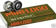 Bones Bearings -  MINI LOGO Militant ( 8 pack )  bearing 608 8 mm
