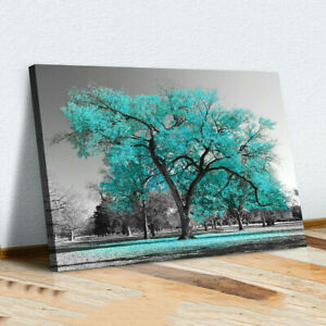 Large Tree Canvas Modern Wall Art Oil Painting Picture Print Unframed Home Decor