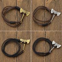 1Pc Slavic Axe Pendant Bracelet Viking Amulet Magic Multi-Layer Bangle Jewelry