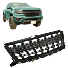 GM 2015-2020 Chevy Colorado Matte Black Front Grille Black w/ Chevrolet Script