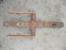 Allis Chalmers WD WD45 45 tractor NICE AC snap coupler drawbar draw bar assembly