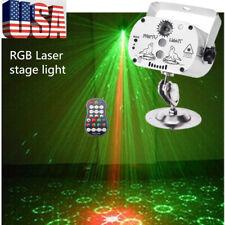 60 Patterns Projector LED RGB Laser Stage Light DJ Disco KTV Home Party Lighting