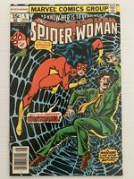 The Spider-Woman #5 1978 1st Appearance Of Morgan Lefay Marvel Comics 8.5 VF+