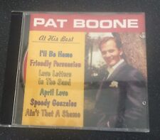 Pat Boone - At his Best (CD, 1997) B14-buy Any 2 CDs Get 1 Free