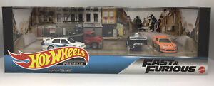 Hot Wheels Fast & Furious Premium Garage Set