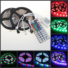 10M 600LEDs 3528 RGB SMD Flexible LED Light Strip+44 Key IR Remote Controller