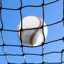 Baseball Backstop Nets [50 Sizes] | Pro Grade Baseball Softball Netting – 100%