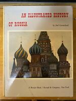 Joel CARMICHAEL / An Illustrated History of Russia First Edition 1960