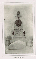 Grave of Ceorges BIZET - French Composer -1925 Music History Print