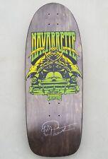 Creature Darren Navarrette Reaper old school skateboard deck rare black label OG