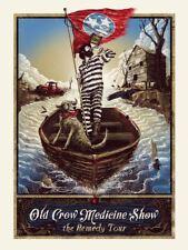 OLD CROW MEDICINE SHOW - 2014 ZEB LOVE SCREENPRINT POSTER