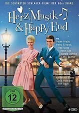 Herz, Musik & Happy End - Die schönsten Schlager-Filme der 60er Jahre NEU 4 DVDs