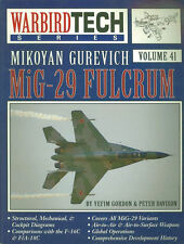 WARBIRD TECH 41 MIKOYAN GUREVICH MIG-29 FULCRUM SOVIET AF WARSAW PACT ARAB AF
