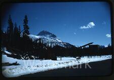 1950s Kodachrome photo slide  Alaska  Heavy equipment