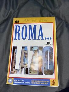 Map Of ROME,  1997, Rome Tourist Authority